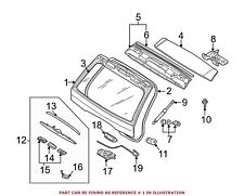 For BMW Genuine Liftgate Rear 41627126015