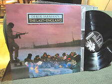 DEREK JARMAN'S THE LAST OF ENGLAND SOUNDTRACK OST LP IONIC 1 uk '87 simon turner
