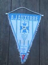 Fanion A.J AUXERRE vintage pennant trophée Coupe de France 1979 Titre 79/80
