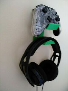 3D Printed XBOX Series PlayStation PS5 NS 1Controller+Headset Wall Mount Holder