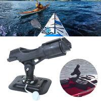 1Pc Adjustable Side Rail Mount For Kayak Boat Fishing Pole Rod Holder Tackle K3C