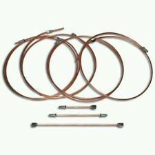 COPPER brake pipe sets VW Caddy MK 1
