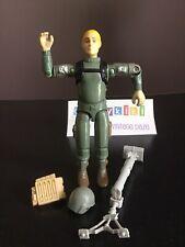 Vtg G.I. Joe 1983 Short Fuze Action Figure S1 V1.5 & Helmet Backpack  Weapon