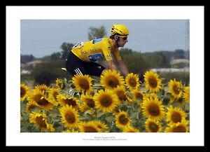 Bradley Wiggins 2012 Tour De France Cycling Photo Memorabilia (965)