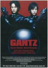 GANTZ: PART 1 Movie POSTER 27x40 Kazunari Ninomiya Ken'ichi Matsuyama