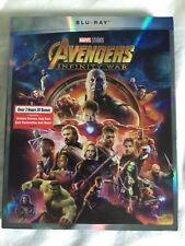 Avengers Infinity Wars (Blu-Ray) 2018 w/ SLIP COVER, free shipping