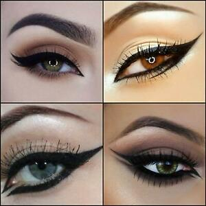 Eyeliner Stencils Smokey Cat Eyes Guide Template Fashion
