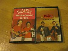 2 MC Rositas Souvenirs Musikwünsche für Sie SW RECORDS Bayreuth Musikkassette