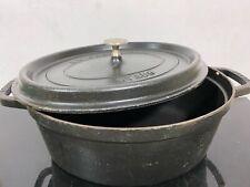 Vintage STAUB Cocotte Cast Iron Dutch Oven France Pot Stockpot