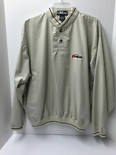 MENS eBIKE 100% Polyester 2 Button Windbreaker Pullover - LARGE – NEW