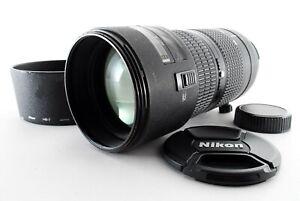 Nikon AF NIKKOR 80-200mm f/2.8 D ED New Zoom Lens W/Hood Tested