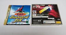 Zap! Snowboard TRIX SEGA SATURN JAPAN JPN * * in buonissima condizione