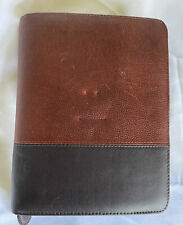 Franklin Covey Classic 15 Rings Brown Black Plannerbinder With Fillers