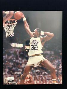 Karl Malone Signed Autograph Photo - Utah Jazz - JSA #QQ62314
