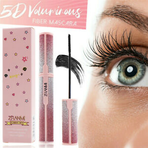 5D Silk Voluminous Fiber Mascara Eyelash Waterproof Longlasting Makeup UK