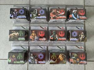 Star Wars Imperial Assault Figuren Packs Deutsch 32 Stück!
