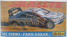Heller 80190 - Peugeot 405 TURBO PARIS-DAKAR - 1:43 - Modellbausatz Kit - NEU