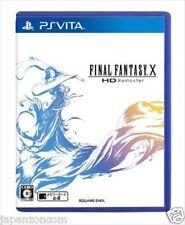Used PS Vita Final Fantasy X HD Remaster SONY PLAYSTATION JAPANESE IMPORT