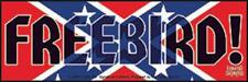 Lynyrd Skynyrd - Freebird Logo Sticker