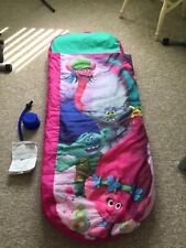 Trolls ReadyBed, Airbed and Sleeping bag in 1 includes instructions & hand pump