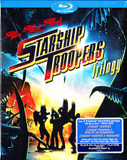 Starship Troopers Trilogy: 1 2 3 Hero Federation/Marauder (Blu Ray) NEW & Sealed
