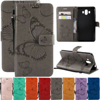 For Huawei Mate 7 8 9 10 Lite Leather Flip Wallet Magnetic Card Stand Case Cover