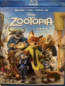 Zootopia Blu-Ray ONLY / NO DVD /NO Digital Copy Included