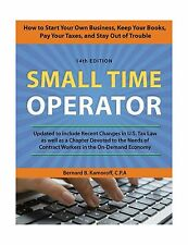 Small Time Operator: How to Start Your Own Business Keep Your B... Free Shipping