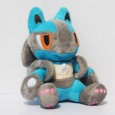 "Peluche Lucario 18 cm- plush toy doll 7""/ Pokemon"