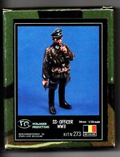 VERLINDEN 273 - SS OFFICER WWII - 1/35 RESIN KIT NUOVO
