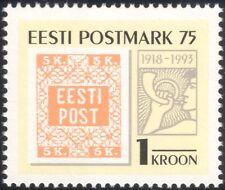 Estonia 1993 First Postage Stamp/Philately/Post/History/S-on-S/UPU 1v (ee1088)