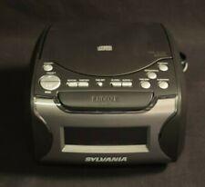 Sylvania Alarm Clock Radio with Cd Player and Usb Charging Src4986
