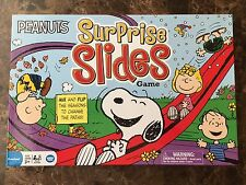 Peanuts SURPRISE SLIDES Board Game Brand NEW Sealed Charlie Brown Snoopy Lucy