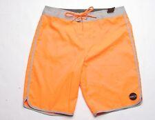 O'Neill Santa Cruz Scallop Boardshort (32) Bright Orange