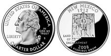 2008 S GEM BU PROOF New Mexico STATE QUARTER UNCIRCULATED COIN COPPER PF