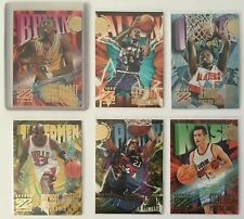 1997 Skybox Z-Force Kobe Bryant Rookie Michael Jordan Basketball Cards Lot of 6