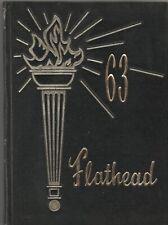 1963 Flathead County High School Yearbook, Kalispell, Montana