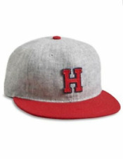 cf7ba2684e5 NEW EBBETS FIELD FLANNELS HOLLYWOOD STARS WOOL STRAP BACK BASEBALL CAP HAT