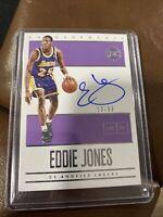 2019-20 Panini Encased Eddie Jones Los Angeles Lakers Endorsements Auto /99