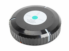 "9"" Auto Robotic Floor Cleaner Automatic Mop Vacuum Dust Cleaning"