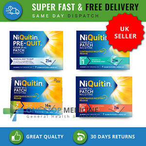 Niquitin Patches 21/14/7 mg Steps pre 1/2/3 box