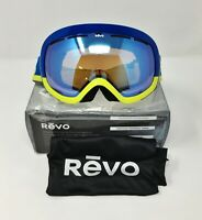 Revo WORDSMITH Snow Ski Goggle RG 7008 Blue Water PHOTOCHROMATIC POLARIZED Lens