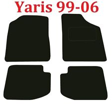 Toyota Yaris Tailored Car mats 5door hatch 1999 2000 2001 2002 2003 2004 2005