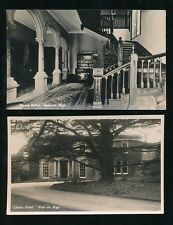 Herefordshire ROSS-on-WYE Chase Hotel 2 c1920/30s? RP PPCs
