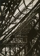 "Laszlo Moholy-Nagy ""Torre Eiffel"", Bauhaus/constructivismo póster de 250gsm A3"