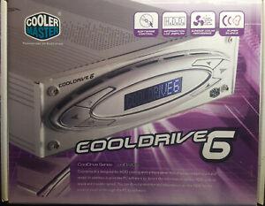 Cooler Master COOLDRIVE 6 - Rack in Alluminio per raffreddamento HDD