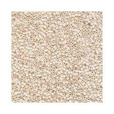 Delica Beads Miyuki 11/0 Seed Beads DB1530 Op Bisque White Ceylon , Cylinders