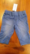 Milky Baby Boys Electric Blue Jeans Sz00 Post D98