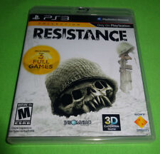 Empty Custom Replacement Case! Resistance Collection - Trilogy PlayStation 3 PS3