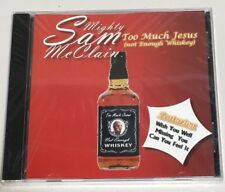 Mcclain, Mighty Sam-Too Much Jesus (Not Enough Whiskey)  Factory Sealed New